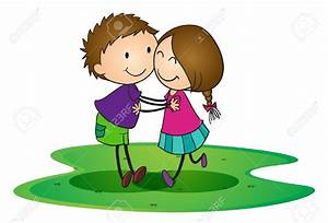 Hug clipart kind person - Pencil and in color hug clipart ...