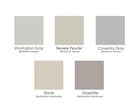 warm gray paint color benjamin loris decoration