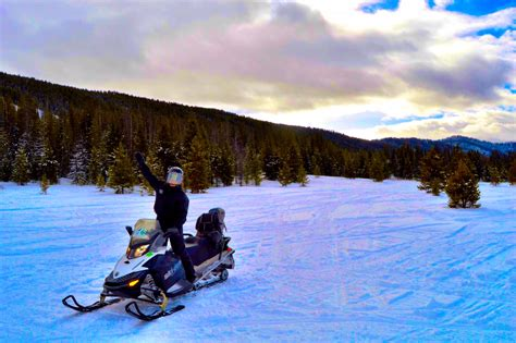 hang on tight a snowmobiling tour to granite springs