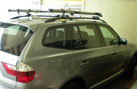 Bmw X3 Roof Rack by 2011 Bmw X3 Roof Rack Cross Bars