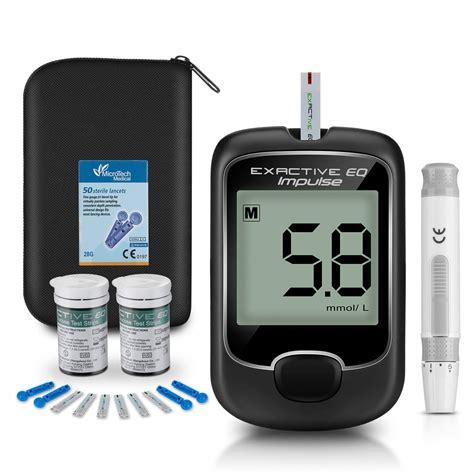 seeyc blood glucose monitor meter diabetes testing kit