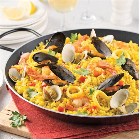 pa 235 lla traditionnelle aux fruits de mer recettes cuisine et nutrition pratico pratique