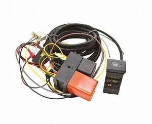 Defender Heated Wind Screen Wiring Harness Relay And Oem