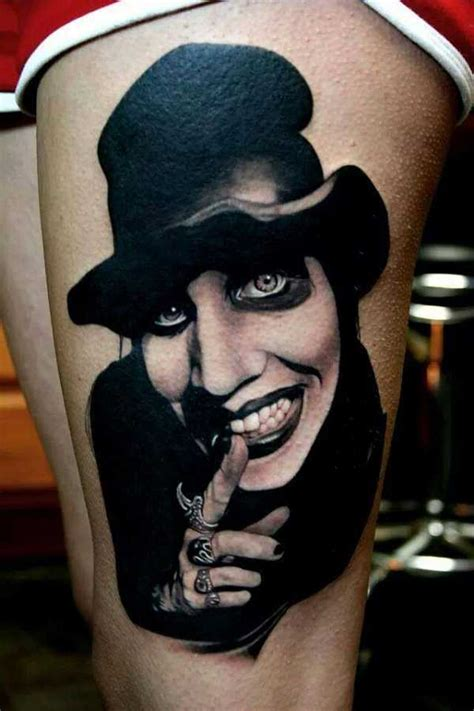 marilyn manson tattoos tattoo spirit