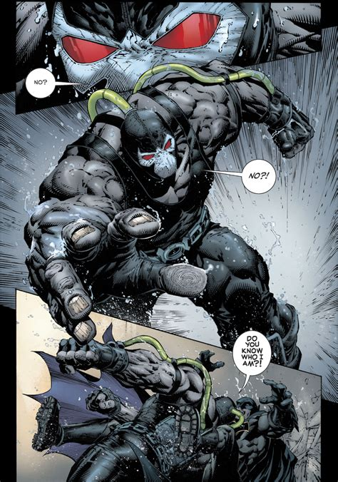 Bane Vs Batman Rebirth Comicnewbies
