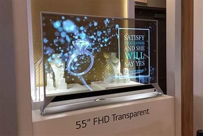 Transparent Screen Oled Digital Future Lg Futuristic