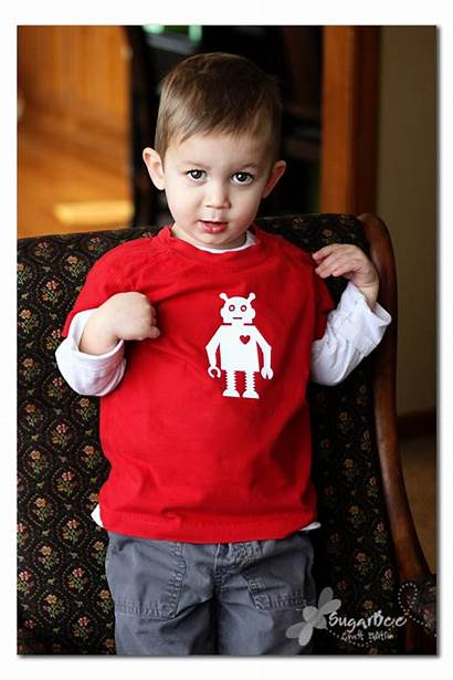 Shirt Valentine Boys Boy Diy Designs Homemade