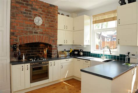 kitchen cabinets with windows terraced house kitchen 6485