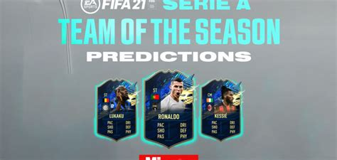 Fifa 21 kick off mode. FIFA 21 Serie A TOTS (Team of the Season) predictions and likely release date   Business, Energy ...