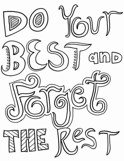 Coloring Inspirational Pages Scripture Quotes Adults