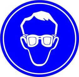Clip Art Safety Glasses Sign