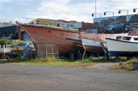 Fishing Boat Jobs Tasmania by Historical Feature Aged In Wood Trade Boats Australia