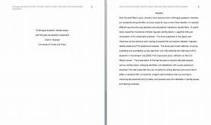 Here Are The First 3 Pages Of An APA Formatted Manuscript Conventional Language Sample APA Essay With Notes Free Sample Of Research Paper In APA Style Apa Format Research Paper Example PSD File