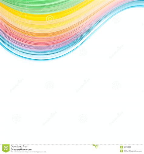 abstract isolated waves border background stock photo image