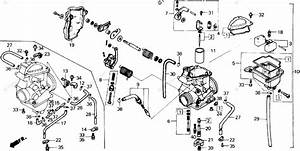 Hw 0895  Honda Recon Carburetor Diagram Free Diagram