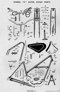 Norman 1951 Model C Autocycle Parts Fiche