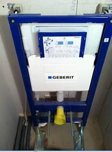 Installer Un Wc : geberit wc suspendu installation ~ Melissatoandfro.com Idées de Décoration