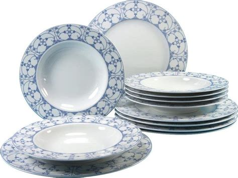 indisch blau porzellan creatable tafelservice porzellan 187 borkum indisch blau 171 12 teilig kaufen otto