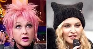Cyndi Lauper Criticizes Madonna's Women's March Speech ...