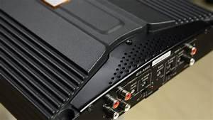 Jbl Gt5-a604 640w 4-channel Car Amplifier First Look   Start Up