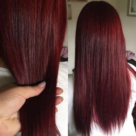 Pin By Erin Blackburn On Hair Colors In 2019 Dark Red