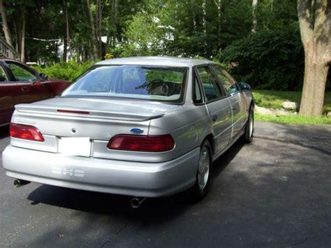 automotive service manuals 1993 ford taurus security system sell used 1993 ford taurus sho sedan 4 door 3 0l 5 speed in abington massachusetts united