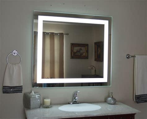lighted vanity mirror led lighted wall mounted mam84036