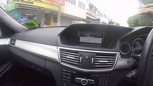 Mercedes Benz E200  W212  - Aftermarket Reverse Camera