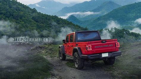2020 Jeep Scrambler by 2020 Jeep Scrambler Render Looks Ready For The Real World