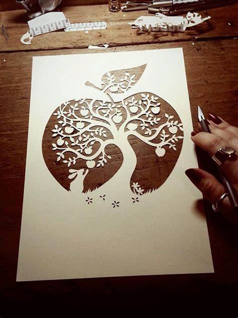 Paper Cutting Templates For by 50 Easy Paper Cutting Crafts For Beginners