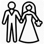 Icon Ceremony Bride Groom Icons Gestalten Leben