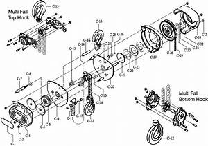 Components Of Manual Chain Hoist  Lifting Chain  Manual