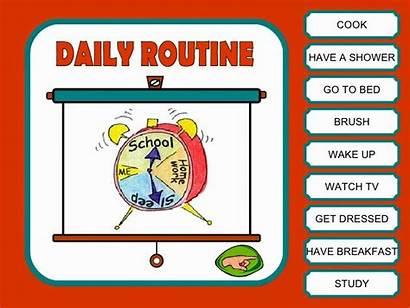 Routine Daily Routines Ano Study Para Slideshare