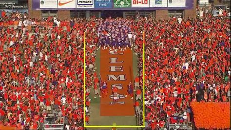 clemson football hill intro video youtube