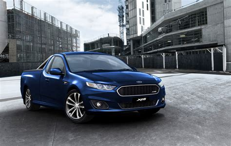 New Ford Falcon Ute Xr6 Unveiled Autoevolution