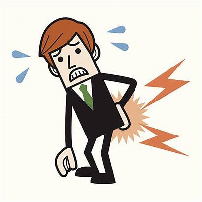 Pain Vector Clipart Lower Low Illustrations Clip