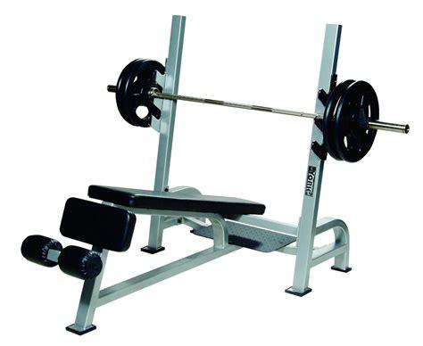 olympic decline bench press  gun racks benches york barbell