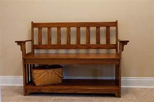 Custom Made Entryway Bench by Vintage Woodworks Of Navarre