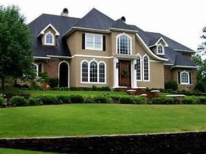 Modern, Minimalist, Home, Exterior, Paint, Color, Scheme
