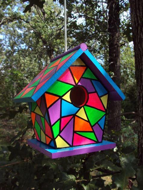best 25 painted birdhouses ideas on bird