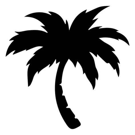 palm tree clipart black and white no background palm palm tree transparent png svg vector