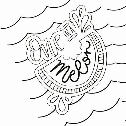 Coloring Summer Pages Printable Adults Fun Beach