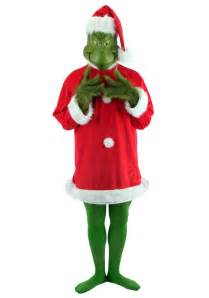 christmas grinch plus size costume holiday dr seuss costumes