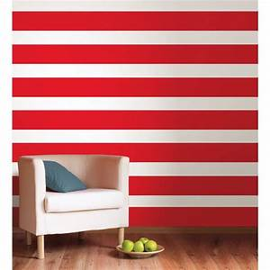 red hot 1639 wall border wallpops stripe wallpaper With striped wall decals for home
