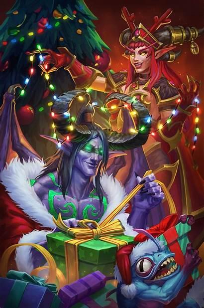 Warcraft Wow Elf Alexstrasza Fanart Reddit Illidan