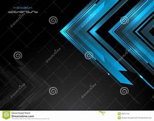 Abstract Background In Hi-tech Style Stock Photo ...