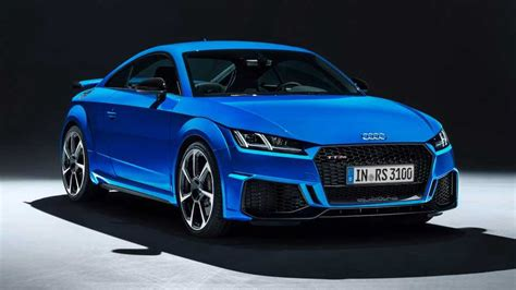 Audi Tt Coupe 2019 by 2019 Audi Tt Rs Coupe Roadster Unveiled With Sharper Design