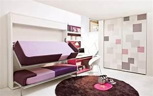 Jugendzimmer Mit Klappbett : hochbett im kinderzimmer 100 coole etagenbetten f r kinder ~ Sanjose-hotels-ca.com Haus und Dekorationen