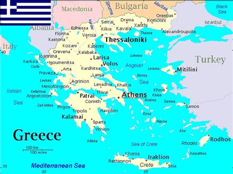 maps  greece