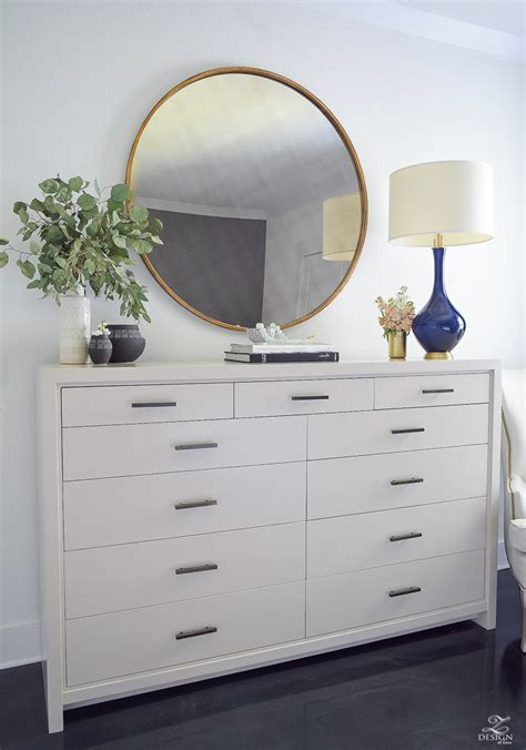 How To Style A Dresser by Transitional Modern With A Pinch Of Boho Bedroom Reveal